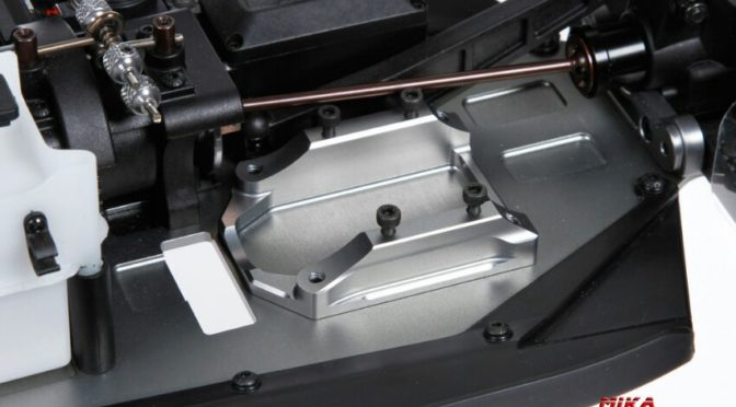 Motorhalterung aus Aluminium für den Serpent Cobra SRX8