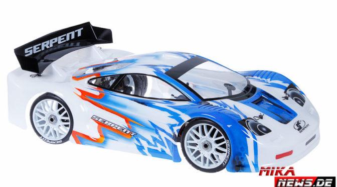 Serpent Cobra GTe 1/8 jetzt als Race-Roller