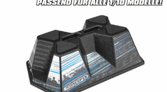 JCONCEPTS – AERO CAR STAND FÜR 1/10 FAHRZEUGE