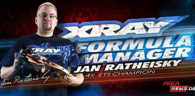 Jan Ratheisky – Team XRAY Formula Manager