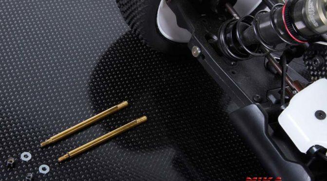 Neue Kolbenstangen für den Serpent SRX8