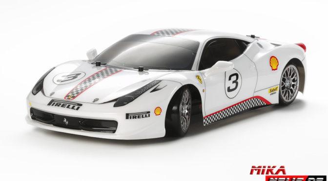 1:10 RC Ferrari 458 Challange TT-02D