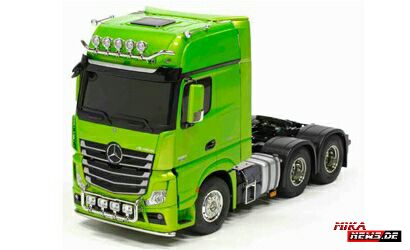 1/14 RC XB MB Actros 3363 Grün Full Option