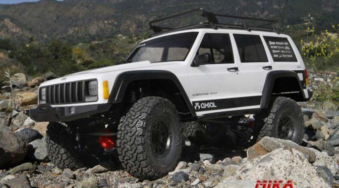 Axial SCX10 II 2000 Jeep® Cherokee 4WD Kit 1/10