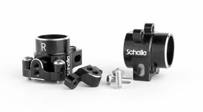 Schelle Racing: Aluminiumradträger für Asso RC10B6/B6D