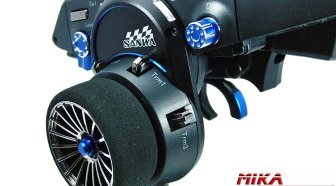 Gute Ausstattung,  aber begrenzt zu haben – Sanwa M12S Limited Edition Blue-AL