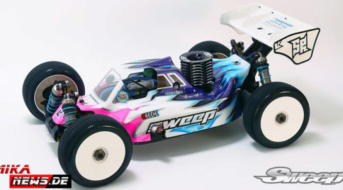 Sweep Racing – Karosserie für den Kyosho MP9