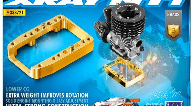 Einteiliger Motorträger für den Xray NT1`16