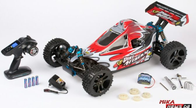 1:5 X5GB GP Dirt Attack 2,4 GHz LCD Kit RTR