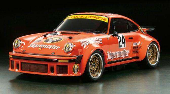 """Tamiya 1:10 RC Porsche 934 """"Jägermeister"""" TA-02SW"""