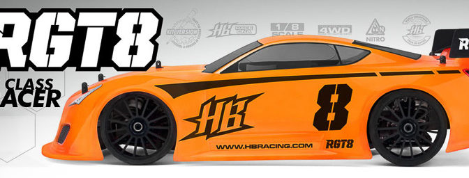 HB RACING RGT8 GT ON-ROAD RACE KIT 1:8