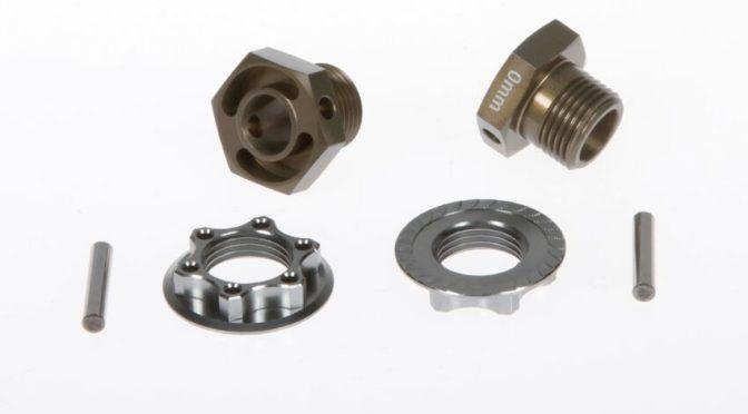 SERPENT – Neue leichtere Radmitnehmer für den SRX8