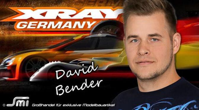 David Bender startet für SMI Motorsport und Xray