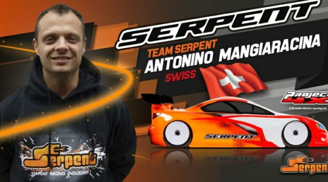 Antonino Mangiaracina  jetzt bei  Team Serpent