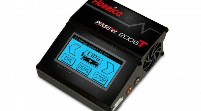 PulseTec Ladegerät 2006T 12V Touchscreen