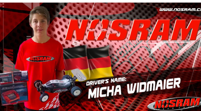 Micha Widmaier setzt auf Nosram-Produkte