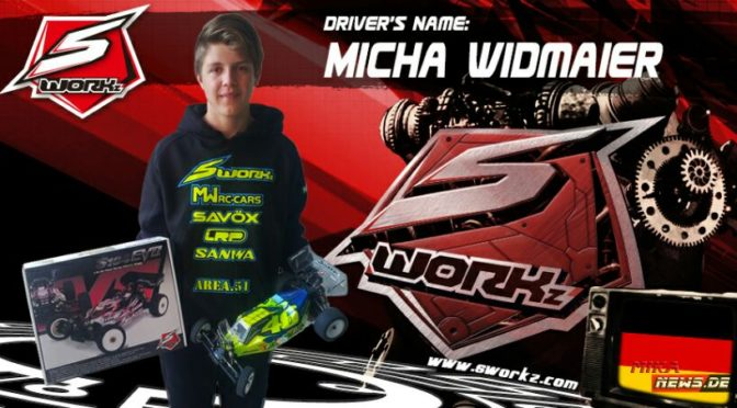 Micha Widmaier joins SWORKz 1/10 Team