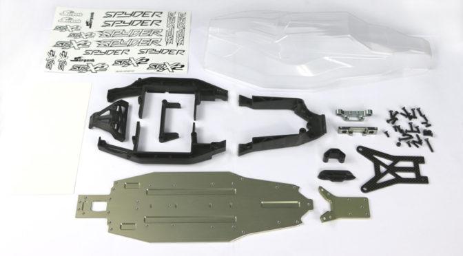 Aluminium-Chassis-Upgrade Kit für den Spyder SRX2