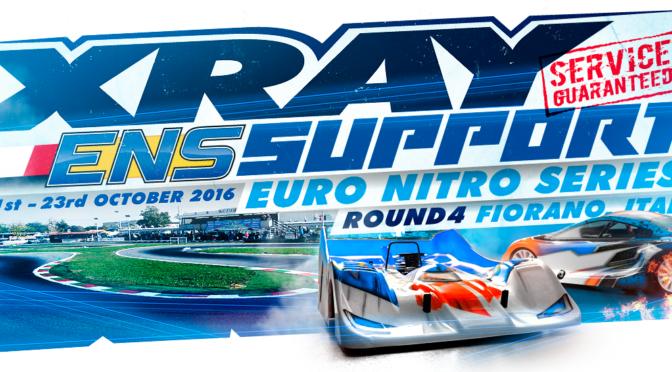 XRAY Support auf dem ENS Round 4 in Fiorano / Italien