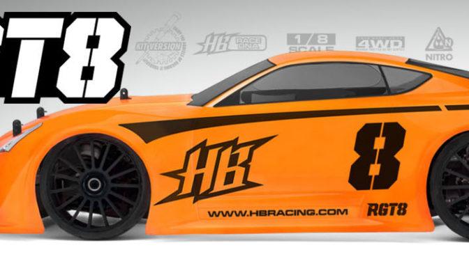 HB Racing RGT8 ab sofort verfügbar in Deutschland!