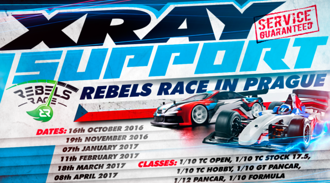 Xray Support beim Rebels Race in Prag
