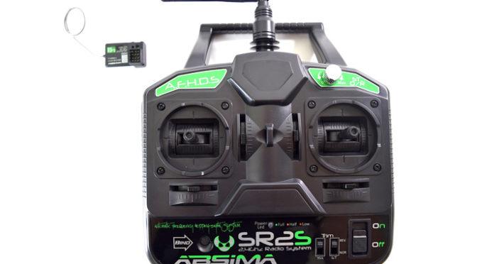 Neu und Knüppeldick – die Absima SR2S Stick Fernsteuerung!!