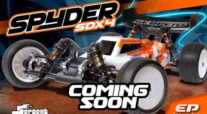Serpent Spyder SDX4 1/10 4WD kommt demnächst