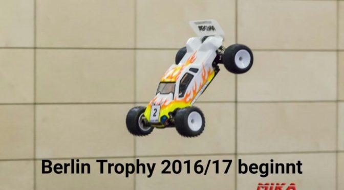 Berlin-Trophy Saison 2016/17 – Es geht los