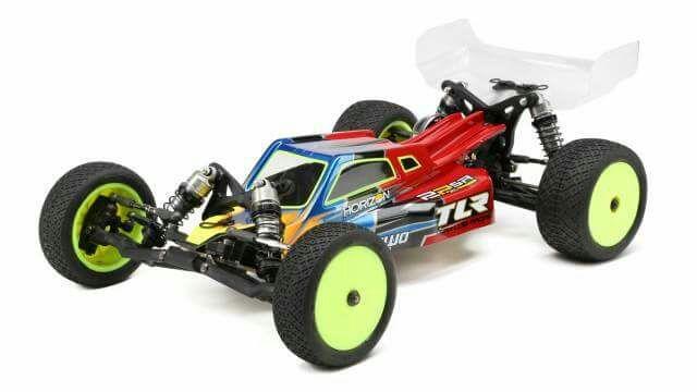 TLR 22 Spec Racer 2WD Buggy Kit 1/10