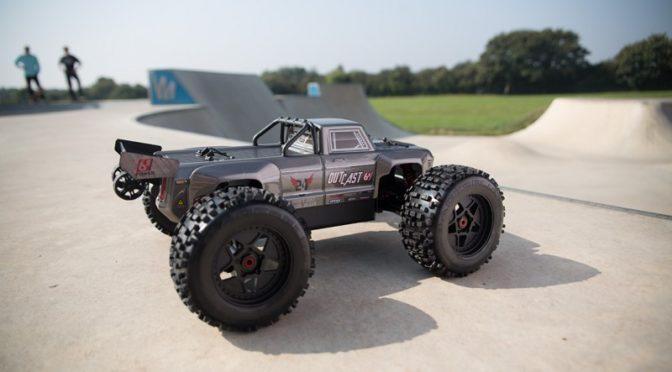 ARRMA OUTCAST 6S BLX 4WD Stunt Truck 1/8 RTR
