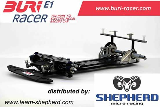 BURI-Racer und Shepherd starten Kooperation
