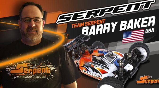 Barry Baker wechselt zu Team Serpent