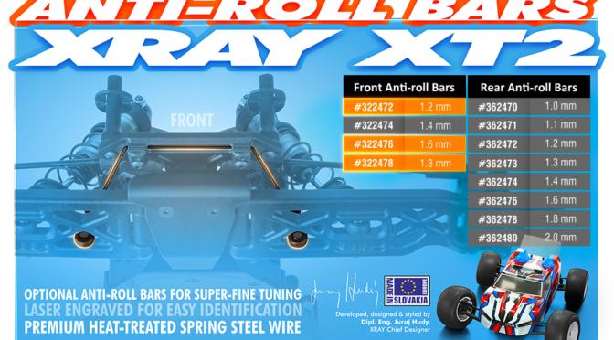 Stabilisatoren für den Xray XT2