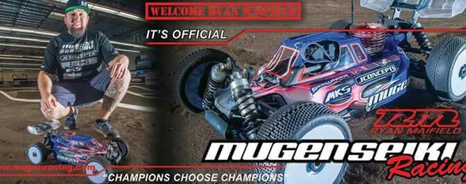 Ryan Maifield bei Mugen Seiki Racing