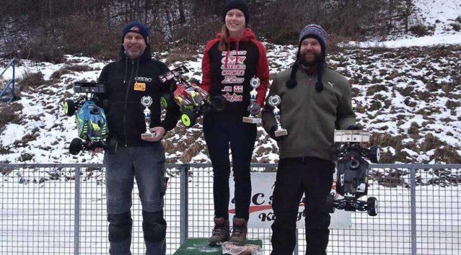Vanessa Wende gewinnt Winter Race