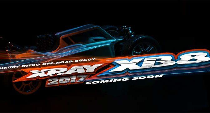 Neue Details vom XRAY XB8 2017 demnächst