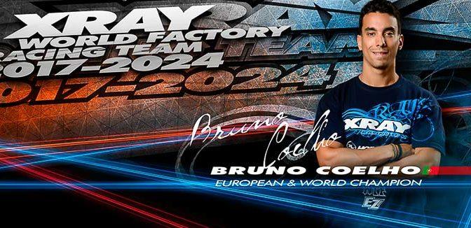 Bruno Coelho verlängert bei Xray