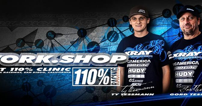 Xray Workshop mit Ty and Gord Tessmann auf dem SDRC Raceway