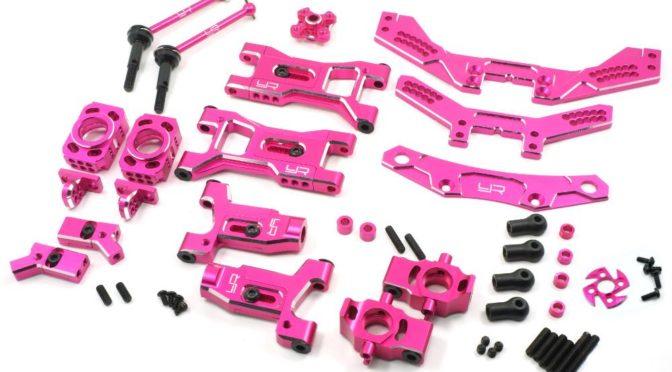 Yeah-Racing – Upgrade-Set für 3Racing Sakura D4 AWD RWD Pink