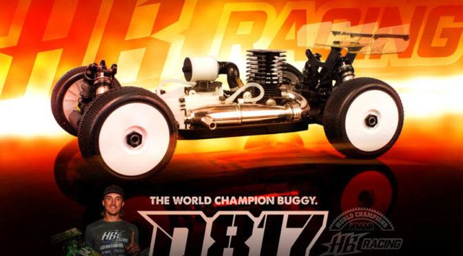 HB D817 1/8 Nitro-Buggy