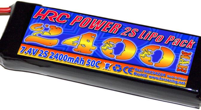 HRC Racing 1/16 & 1/18 LiPo Akku