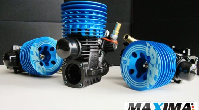 Neuer MAXIMA Mx R6 .21 engine for 1/8 On Road