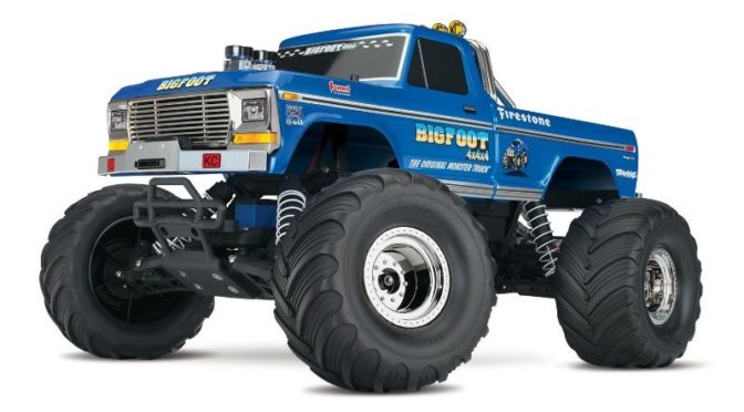 TRAXXAS BIGFOOT No.1 RTR +12V-Lader bei Hoeco