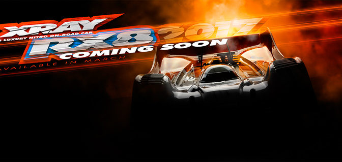 XRAY news : RX8 coming soon