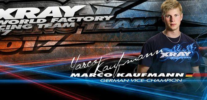 Marco Kaufmann verlängert mit XRAY
