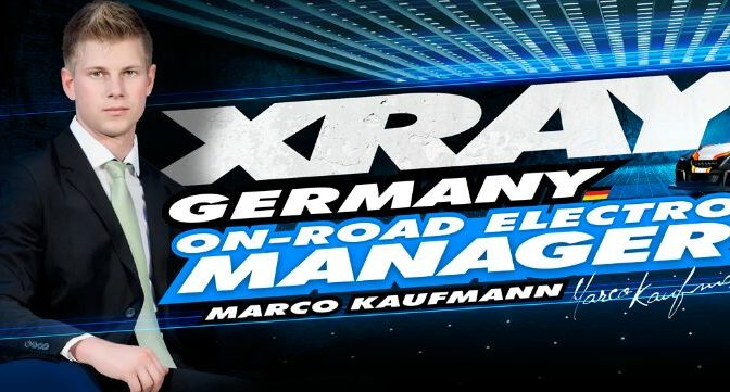 Marco Kaufmann – Team XRAY Germany Elektro-Onroad Manager
