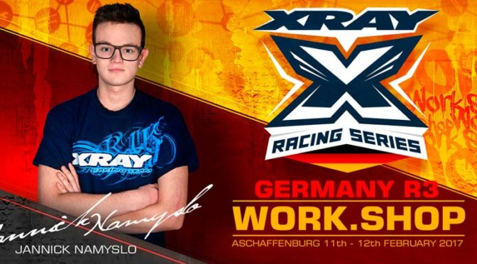 Xray Workshop beim XRS Germany Round 3