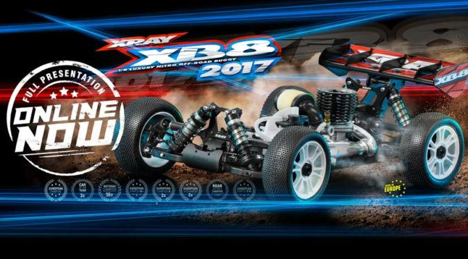 XRAY Press Release: XRAY XB8'17 Online jetzt