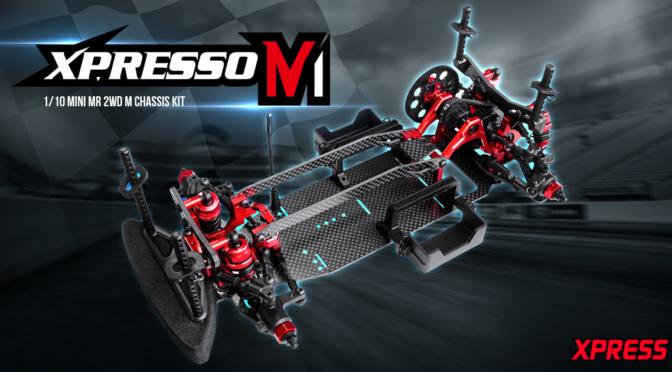 Xpresso M1 1/10 Mini MR 2WD M Chassis Kit