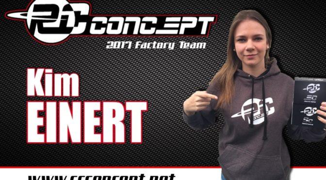 Kim Einert jetzt auch bei RC Concept im Team